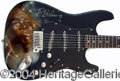 Autographs, B.B. King Signed Custom Guitar