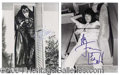 Autographs, KISS--Rare Signed Backstage Photo Lot