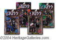 Autographs, KISS--Signed Action Figure Set
