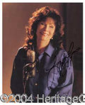 Autographs, Loretta Lynn Signed 8 x 10 Photo