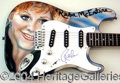 Autographs, Reba McEntire Signed Custom Guitar