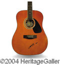 Autographs, Willie Nelson Signed Acoustic Guitar