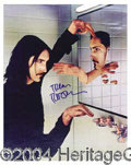 Autographs, Trent Reznor (Nine Inch Nails) Signed Photo