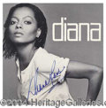 "Autographs, Diana Ross Signed ""Diana"" Album"