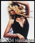 Autographs, Shakira Hot Signed 8 x 10 Photo