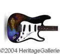 Autographs, Carly Simon Signed Custom Guitar