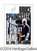 Autographs, Bruce Springsteen Signed HBO Poster
