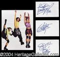 Autographs, TLC Group Signature Set