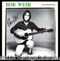 Autographs, Bob Weir (The 'Dead) Signed Album