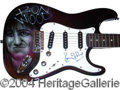 Autographs, Ronnie Wood Signed Custom Guitar