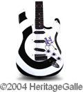 Autographs, Zakk Wylde (Ozzy) Signed Custom Guitar
