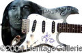 Autographs, Pete Yorn Signed Custom Guitar