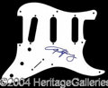 Autographs, Angus Young (AC/DC) Signed Fender Pickguard