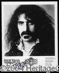 Autographs, Frank Zappa Signed 8 x 10 Photo