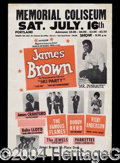 Autographs, James Brown Original 60's Concert Poster