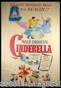 Autographs, Cinderella 1965 Three Sheet Poster