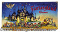 "Autographs, Walt Disney ""Fantasyland"" Game"