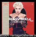 "Autographs, Madonna Signed ""You Can Dance"" Album"