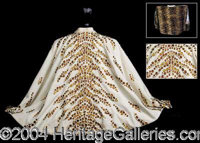 Elvis Presley's Concert Worn Cape! - Few entertainers in history have ever achieved the status Elvis. 25 years after his...