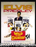 "Autographs, Elvis Presley ""Wild In The Country"" One Sheet"