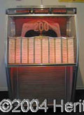 Autographs, Orginal Wurlitzer 2150 Juke Box