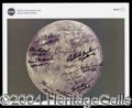 Autographs, Apollo Astronauts Signed NASA Photo