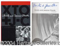 Autographs, Christo & Jeanne-Claude Signed First Ed. Book