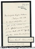 Autographs, Winston Churchill Choice Signed Letter