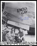 Autographs, Tom Ferebee (Enola Gay) Signed 8 x 10 Photo