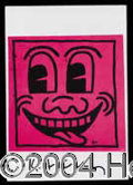Autographs, Keith Haring Signed Postcard