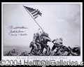Autographs, Iwo Jima Survivors Signed Photo