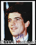 Autographs, John F. Kennedy Jr. Signed 8 x 10 Photo