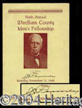 Autographs, J.C. Penney Rare Signed Program