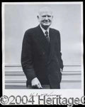 Autographs, Herbert Hoover Signed 8 x 10 Photograph