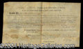 Autographs, Thomas Jefferson and James Madison Signed Document