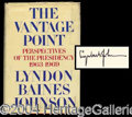 Autographs, Lyndon Johnson Signed Hardcover Book