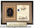 Autographs, Abraham Lincoln Signed Commission