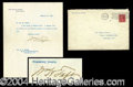 Autographs, William H. Taft TLS Signed as President