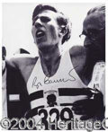 Autographs, Roger Bannister Signed 8 x 10 Photo
