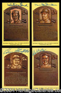 Autographs, Hall Of Fame Postcard Collection Signed (32)