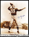 Autographs, Sammy Baugh Signed 11 x 14 Photograph