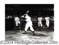 Autographs, Joe DiMaggio Signed 16 x 20 Photograph
