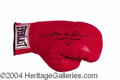 Autographs, Sugar Ray Leonard Signed Boxing Glove