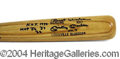 Autographs, Mickey Mantle Signed Baseball Bat w/ Stats