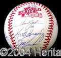 Autographs, 1986 New York Mets Team Signed Baseball