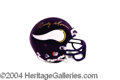 Autographs, Randy Moss Signed Vikings Mini Helmet