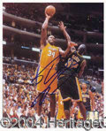 Autographs, Shaquille O' Neal In-Person Signed 8 x 10 Photo