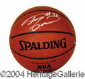 Autographs, Shaquille O' Neal Signed NBA Basketball