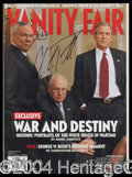 Autographs, Colin Powell Signed Vanity Fair Magazine