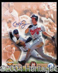 Autographs, Cal Ripken Jr Signed Commemorative 8x10 Photo